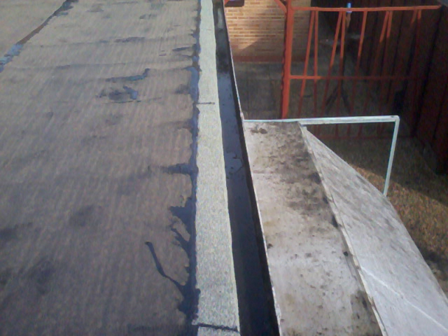 Traditional Stone Finish Flat Roof 03