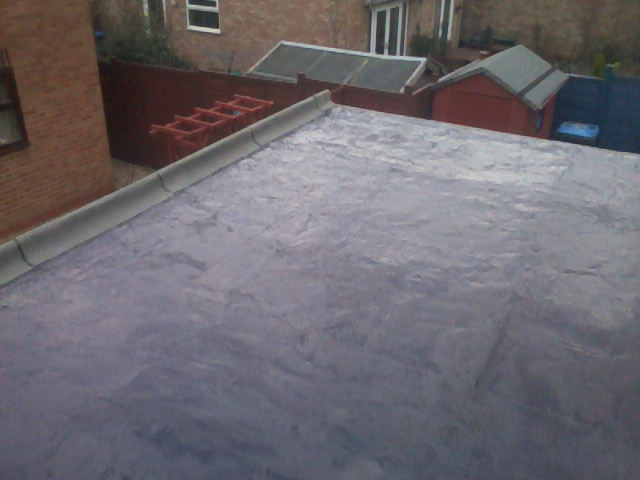 Traditional Stone Finish Flat Roof 05