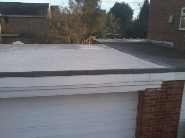 Traditional Stone Finish Flat Roof 09